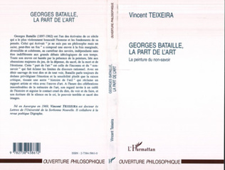 Couverture Georges Bataille, la part de l'art
