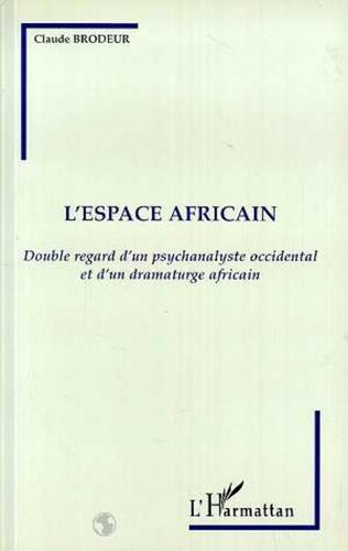 Couverture L'espace africain