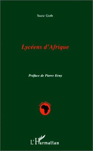 Couverture LYCEENS D'AFRIQUE