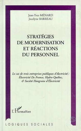 Couverture STRATÉGIES DE MODERNISATION ET RÉACTIONS DU PERSONNEL