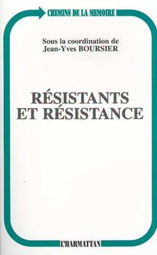 Couverture RESISTANTS ET RESISTANCE
