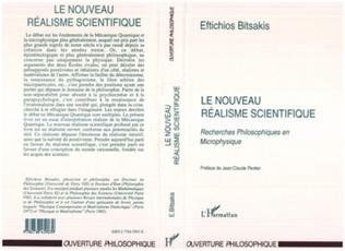 Couverture LE NOUVEAU REALISME SCIENTIFIQUE