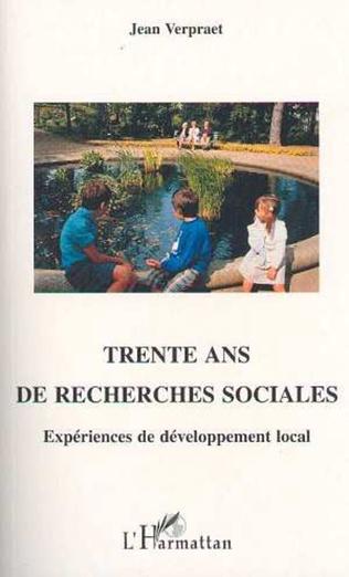 Couverture Trente ans de recherches sociales