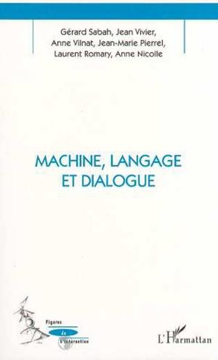 Couverture Machine, Langage et Dialogue