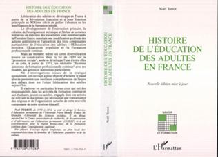 Couverture Histoire de l'éducation des adultes en France