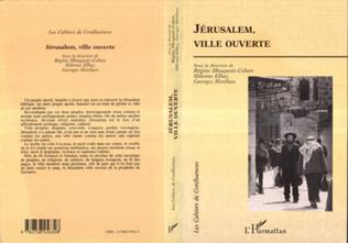 Couverture Jérusalem, ville ouverte