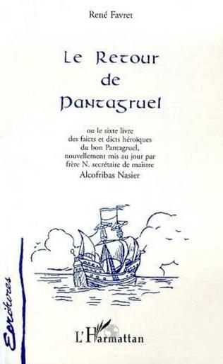 Couverture LE RETOUR DE PANTAGRUEL