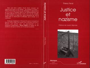 Couverture JUSTICE ET NAZISME