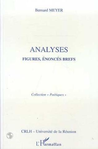 Couverture Analyses