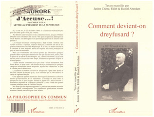 Couverture Comment Devient-On Dreyfusard ?