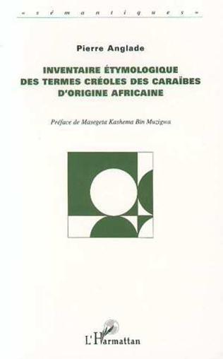 Couverture Inventaire Étymologique des Termes Créoles des Caraibes d'origine Africaine
