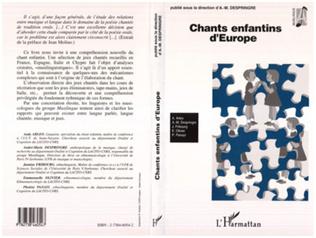 Couverture Chants Enfantins d'Europe