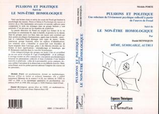 Couverture Pulsions et Politique