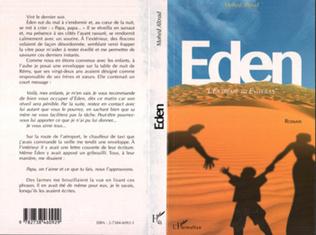 Couverture Eden.