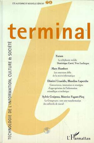 Couverture TERMINAL N°74