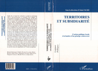 Couverture Territoires et Subsidiarité