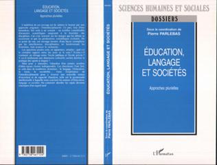 Couverture Education, langage et sociétés