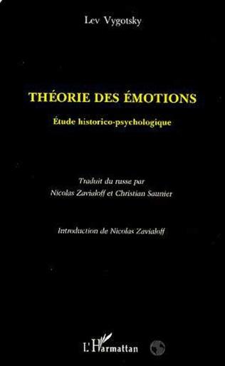 Couverture Théorie des Émotions