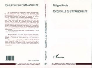 Couverture Tocqueville ou l'intranquillité