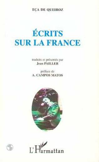 Couverture Écrits sur la France