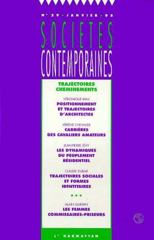 Couverture Trajectoires, cheminements