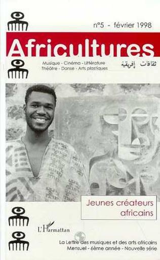 Couverture Jeunes créateurs africains
