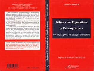 Couverture Défense des Populations et Développement