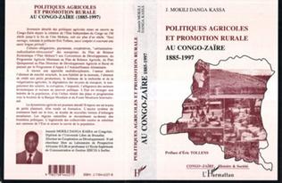 Couverture Politiques Agricoles et Promotion Rurale au Congo-Zaire (1885-1997)