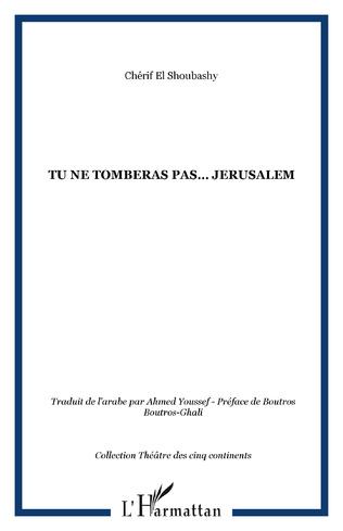 Couverture TU NE TOMBERAS PAS… JERUSALEM