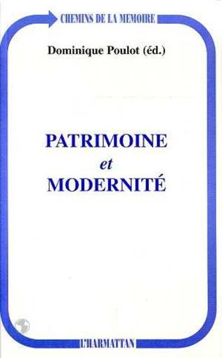 Couverture Patrimoine et Modernité