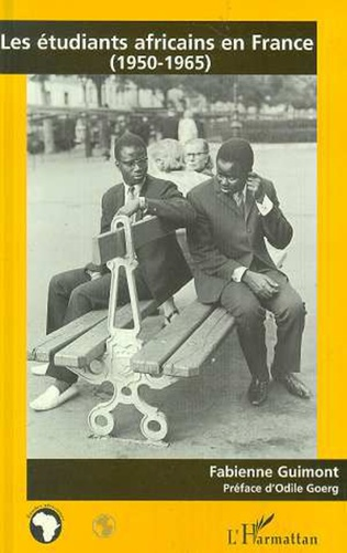 Couverture Les étudiants africains en France (1950-1965)