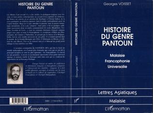 Couverture Histoire du Genre Pantoun