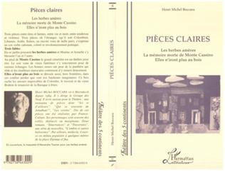 Couverture Pièces Claires