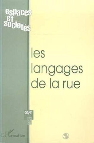 Couverture LES LANGAGES DE LA RUE (n° 90-91)