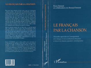 Couverture Le Français par la Chanson