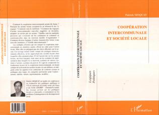 Couverture Coopération Intercommunale et Société Locale