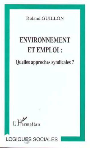Couverture Environnement et Emploi
