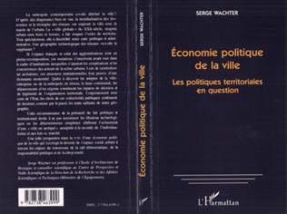 Couverture Économie Politique de la Ville
