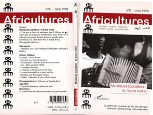 Couverture Musiques Caraïbes : la trace noire