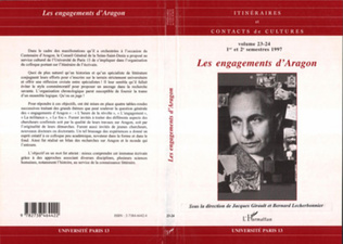 Couverture Les Engagements d'aragon (n°23-24)