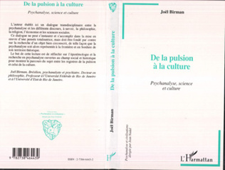 Couverture De la Pulsion à la Culture