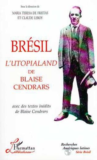 Couverture Brésil l'Utopialand de Blaise Cendrars