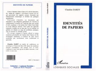 Couverture Identités de Papiers