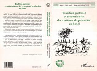 Couverture Tradition Pastorale et Modernisation des Systemes de Production au Sahel
