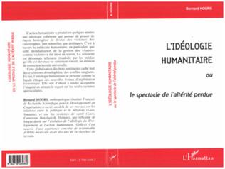 Couverture L'idéologie humanitaire