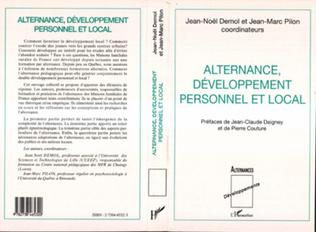 Couverture Alternance, Développement Personnel et Local