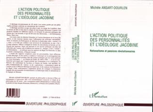 Couverture L'action Politique des Personnalités et l'idéologie Jacobine