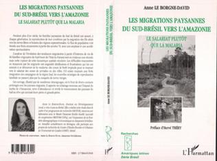 Couverture Les Migrations Paysannes du Sud-Brésil vers l'Amazonie