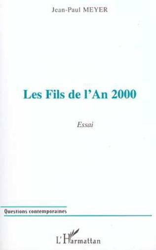 Couverture Les Fils de l'an 2000