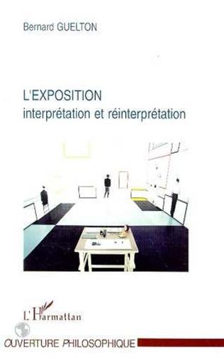 Couverture L'exposition